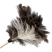 "UNISAN Professional Ostrich Feather Duster, 7"" Handle"