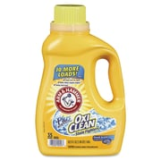 Arm & Hammer™ Oxiclean Concentrated Liquid Laundry Detergent, Fresh, 62.5 Oz Bottle