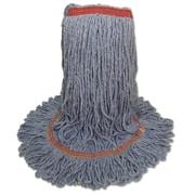 UNISAN Blue Dust Mop Head, Medium, Looped End