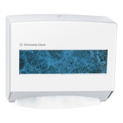 Kimberly-Clark Professional* Scottfold* Compact Towel Dispenser, Plastic, White (KCC 09214)