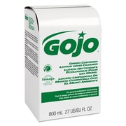 GOJO Green Certified Lotion Hand Cleaner 800ml Bag-In-Box Refill, Unscented, Refill
