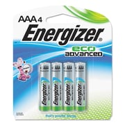 Energizera Eco Advanced Batteries, Aaa, 4pk