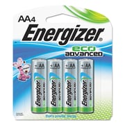Energizera Eco Advanced Batteries, Aa, 4pk