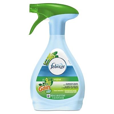 Febreze Fabric Refresher & Odor Eliminator, Gain