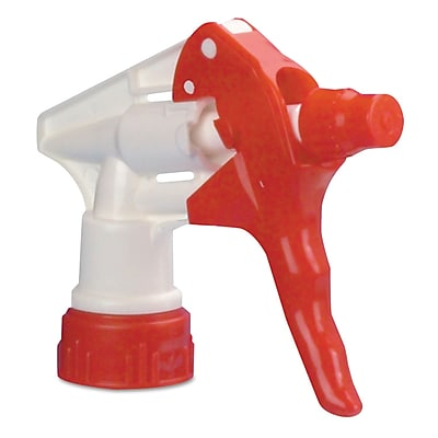 Boardwalk® Trigger Sprayer 250 F/24 Oz Bottles, Red/white, 8