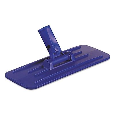 Boardwalk® Swivel Pad Holder, Plastic, Blue, 4 X 9, 12/carton