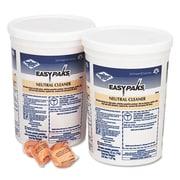 Easy Paks® Neutral Cleaner, .5oz Packet, 90/tub, 2 Tubs/carton