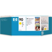 HP 90 C5065A Yellow Ink Cartridge, 400ml