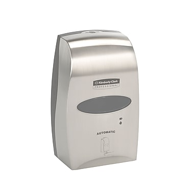 Kimberly-Clark Professional Electronic Cassette Skin Care Dispenser, Brushed Metallic