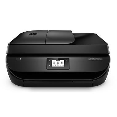 HP - Imprimante jet d'encre sans fil tout-en-un OfficeJet 4650, noir (F1J03A#B1H)