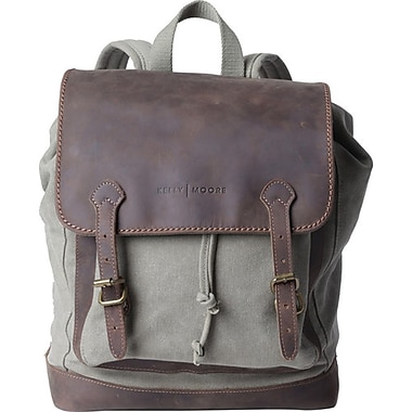 Kelly Moore Sand Canvas Backpack