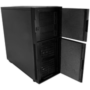 Eagle Tech Nanoxia 22.5'' H x 9.25'' W Desk CPU Holder; Black