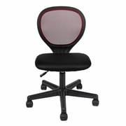 Merax Mesh Desk Chair; Burgundy