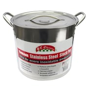 MBR Industries 8-qt Stainless Steel Stock Pot w/ Lid
