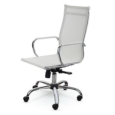 Winport Industries Mesh Desk Chair; White