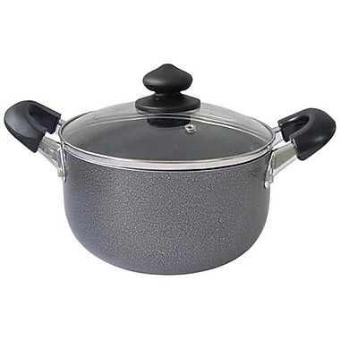 MBR Industries Round Dutch Oven with Lid; 3 Quart