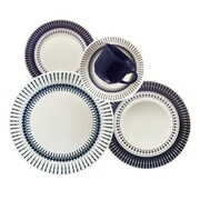 Oxford Porcelain Biona 20 Piece Dinnerware Set, Service for 4