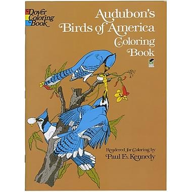 Audubon's Birds of America Coloring Book, Paperback