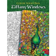 Color Your Own Tiffany Windows, Paperback