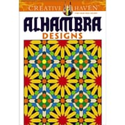 Creative Haven Arabesque Designs Coloring Book, Paperback