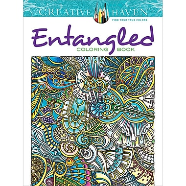 Creative Haven Entangled Coloring Book Paperback