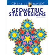 Creative Haven Geometric Star Designs Coloring Book, Paperback