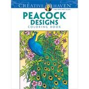 Creative Haven Peacock Designs AdultColoring Book, Paperback