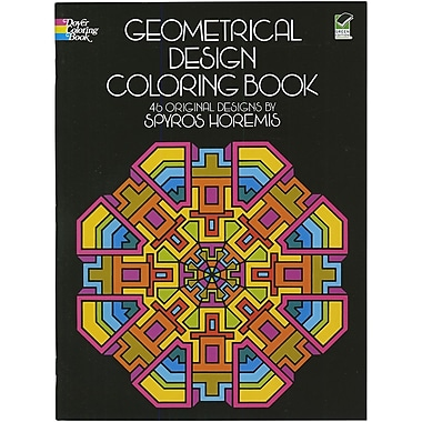 Geometrical Design Coloring Book, Paperback