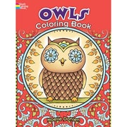 Owls Coloring Book, Paperback