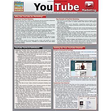 BarCharts, Inc. - QuickStudy® Social Media Marketing Reference Set