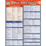 BarCharts, Inc. - QuickStudy® Microsoft Office 2013 Shortcuts Reference Set