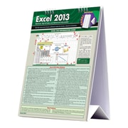 BarCharts, Inc. - QuickStudy® Excel 2013 Easel Reference Set