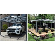 Gazebo Penguin Acay Carport / Open Gazebo (455006-05)