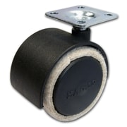 Richelieu Madico Pack Feltac Wheel Caster 51mm, Swivel, Black, 5/Set (F48031)