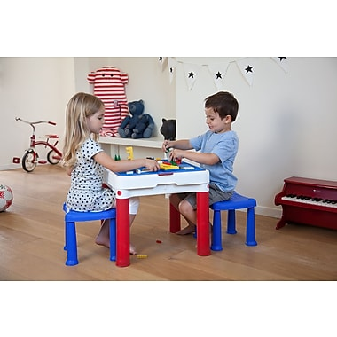 Keter – Table de construction avec blocs de construction (25503)