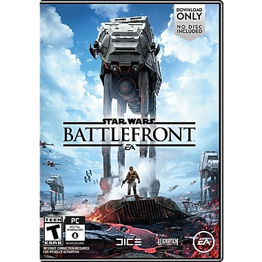 Star wars Battlefront, English