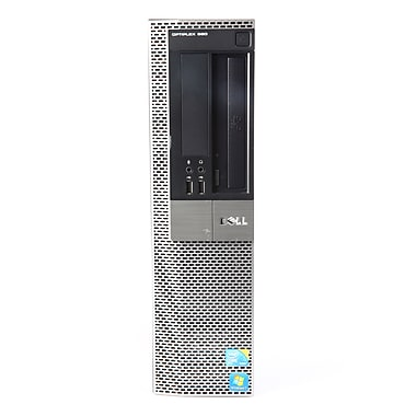 Dell - PC Optiplex 980 remis à neuf, Intel i5-650r, RAM 4 Go, disque dur 250 Go, Win 10 Pro, anglais