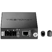 TRENDnet TFC-110 100Base-TX to 100Base-FX Multi Mode ST Fiber Converter