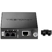 TRENDnet Intelligent 1000Base-T to 1000Base-SX Multi-Mode Fiber Converter