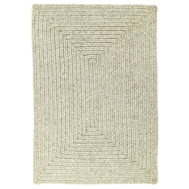 Homespice Decor Ultra-Durable Slate Solid Indoor/Outdoor Area Rug; Rectangle 4' x 6'