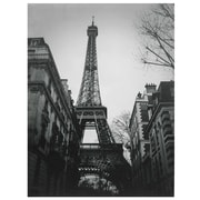 Oriental Furniture Eiffel Tower Sun Glow Photographic Print on Wrapped Canvas