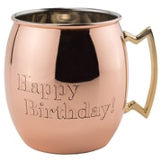 Old Dutch Moscow Mule 16 oz. ''Happy Birthday!'' Mug (Set of 4)