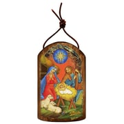 G Debrekht Inspirational Icon Nativity of Birth Wall Decor