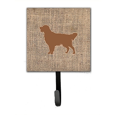 Caroline's Treasures Golden Retriever Leash Holder and Wall Hook
