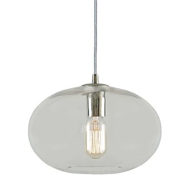 JVI Designs Grand Central 1 Light Mini Pendant; Gun Metal