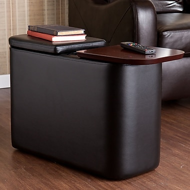 Wildon Home Murphy Coffee Table; Black