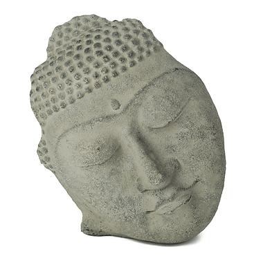 My Spirit Garden Volcanic Ash Reposed Silhouette Statue; Stonewashed
