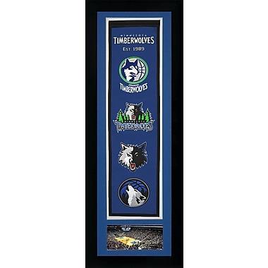 Legends Never Die NBA Framed Graphic Art; Minnesota Timberwolves
