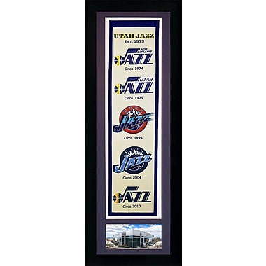 Legends Never Die NBA Framed Graphic Art; Utah Jazz