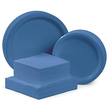 Creative Converting Tableware Entertaining Kit for 48 (Set of 196); True Blue